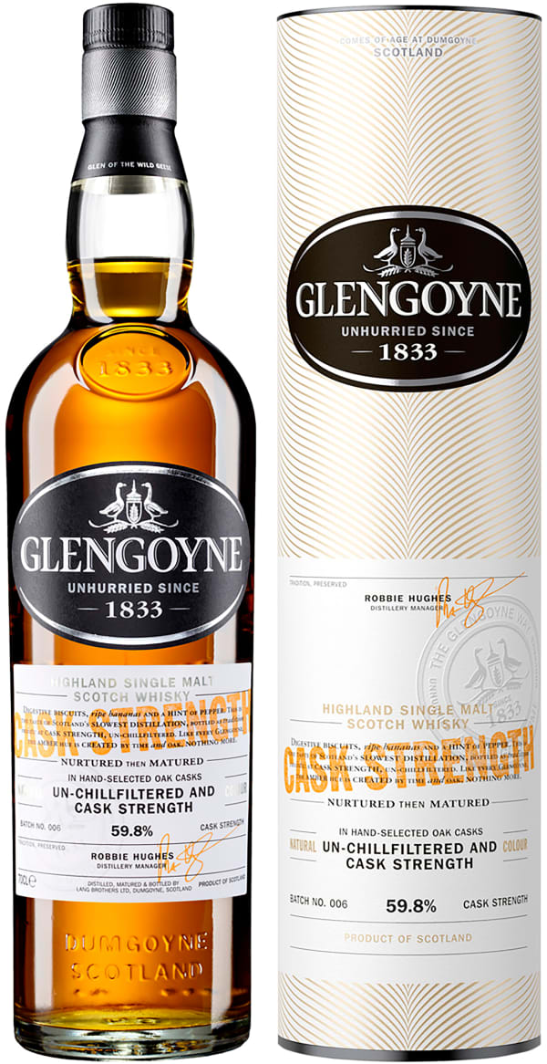 Glengoyne Cask Strength Single Malt