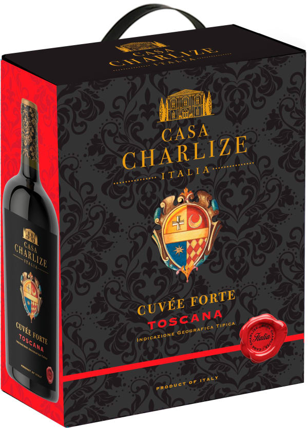 Casa Charlize Cuvée Forte lådvin