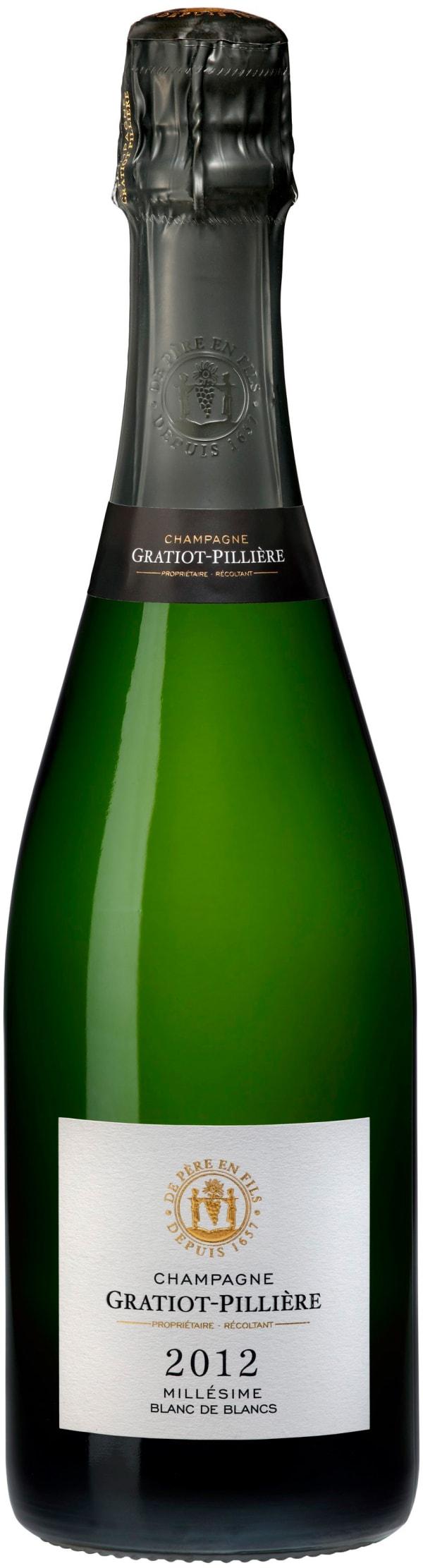 Gratiot Pilliére Blanc de Blanc Champagne Brut 2010