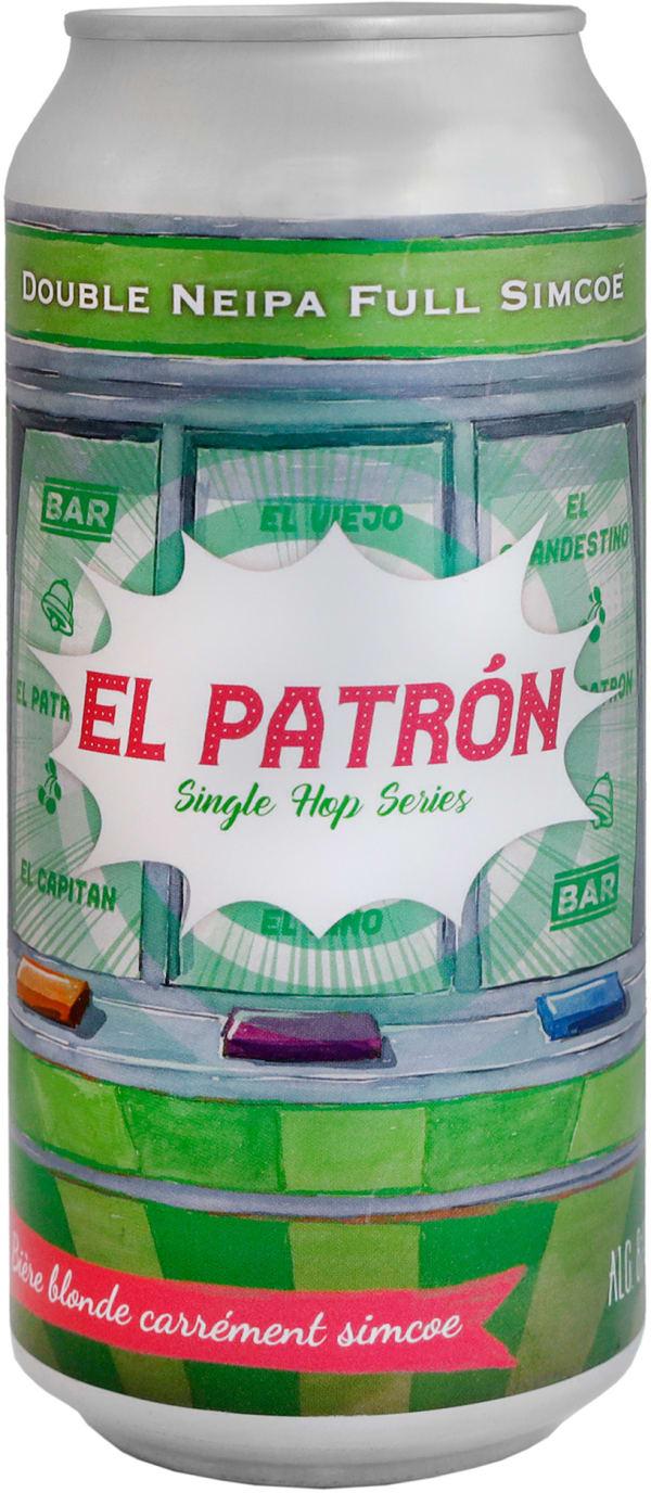 The Piggy El Patrón Double NEIPA can