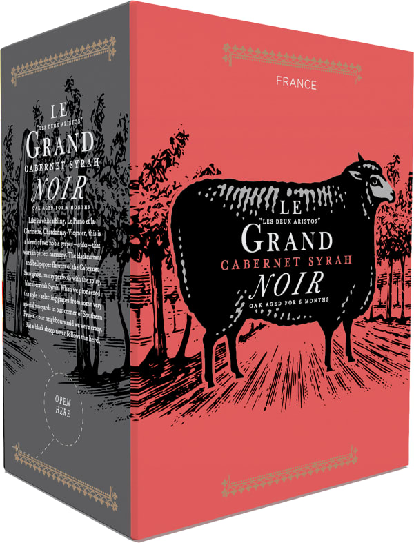 Le Grand Noir Cabernet Syrah bag-in-box