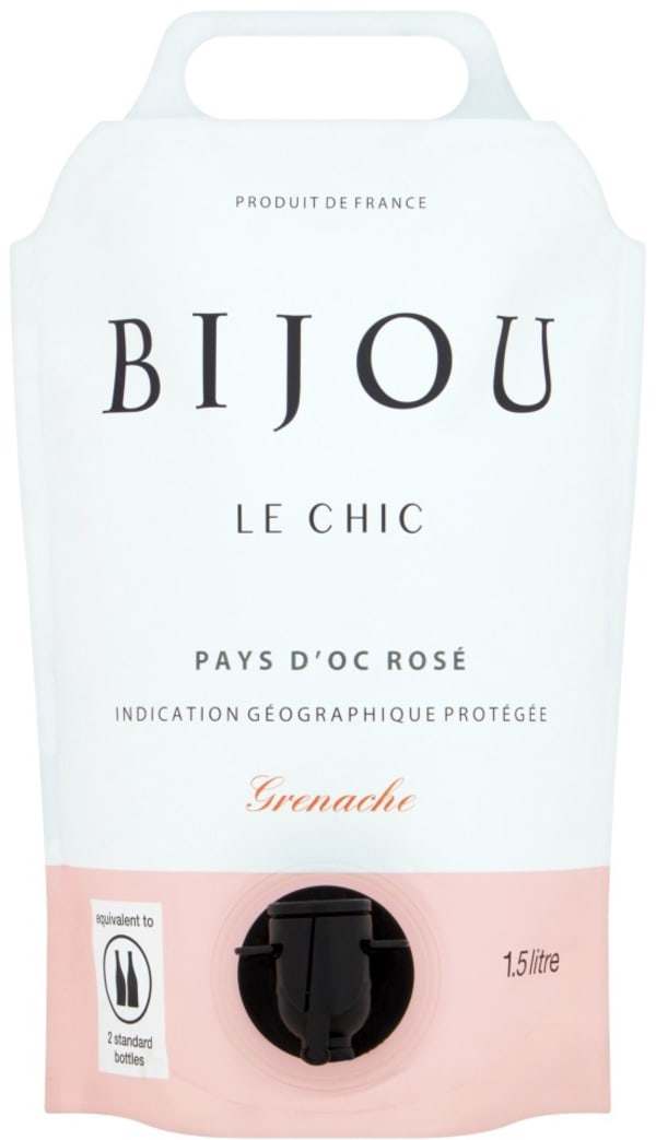 Bijou Le Chic Rosé 2019 wine pouch