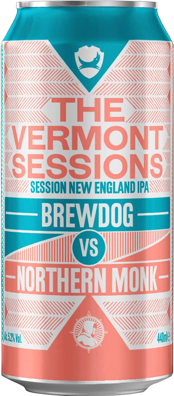 Brewdog vs Northern Monk The Vermont Sessions burk