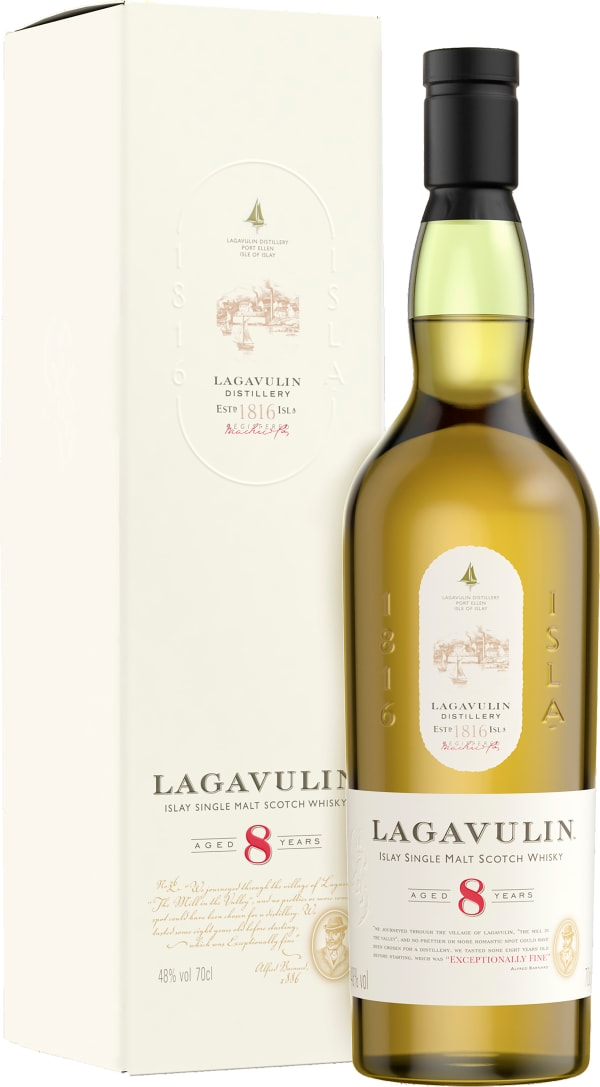 Lagavulin 8 Year Old Single Malt