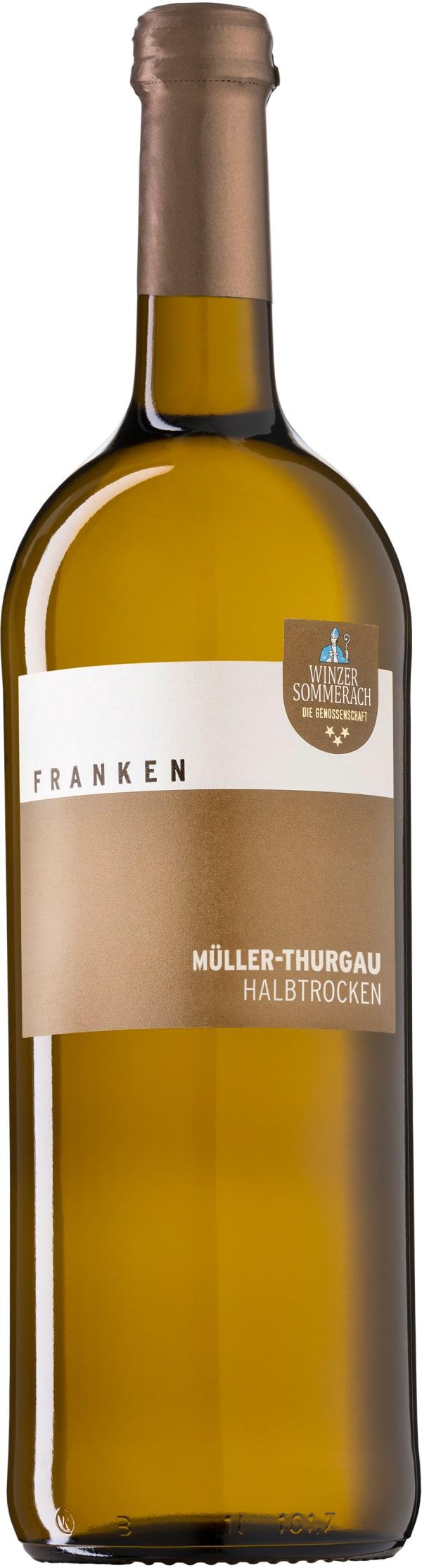 Winzer Sommerach Müller-Thurgau Halbtrocken 2018