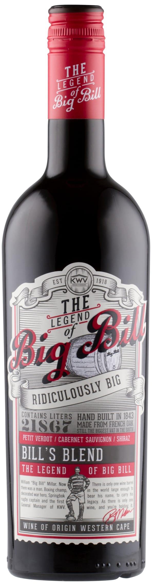 KWV Big Bill Red 2016
