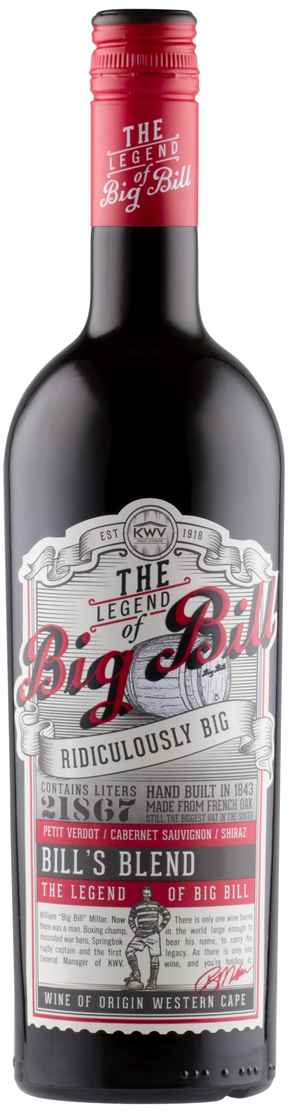 KWV Big Bill Red 2018