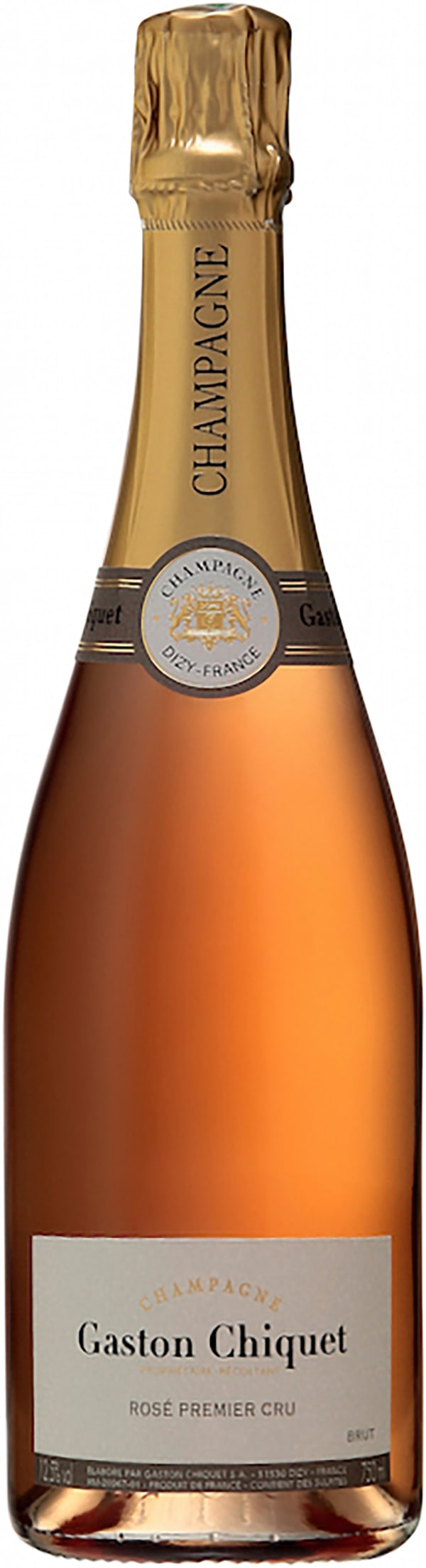 Gaston Chiquet Premier Cru Rosé Champagne Brut
