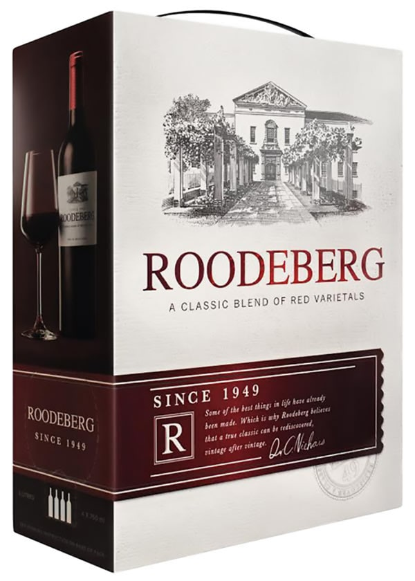 Roodeberg 2016 bag-in-box