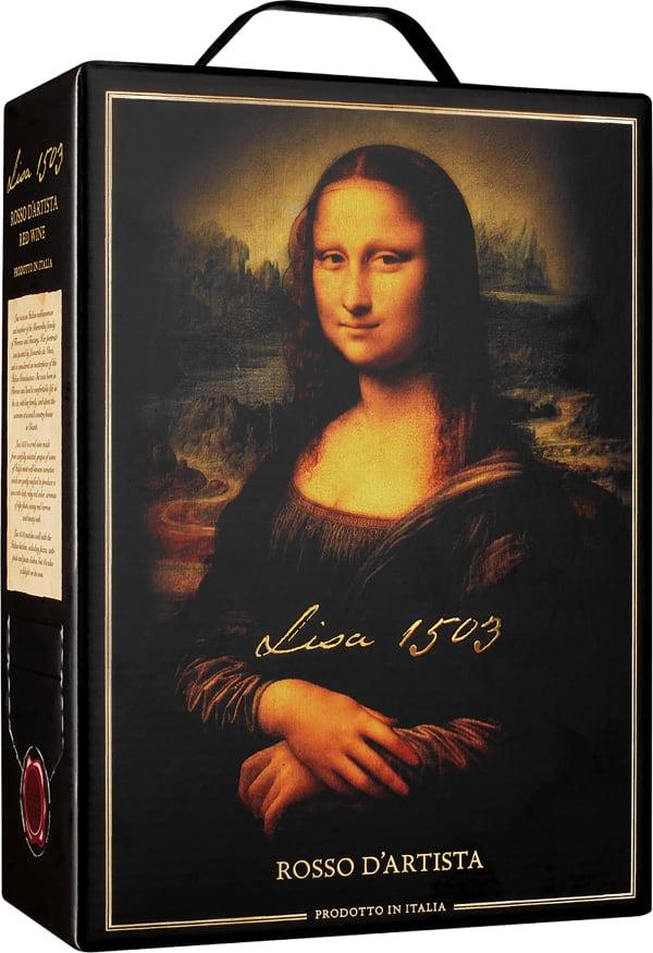 Lisa 1503 Rosso D'artista bag-in-box