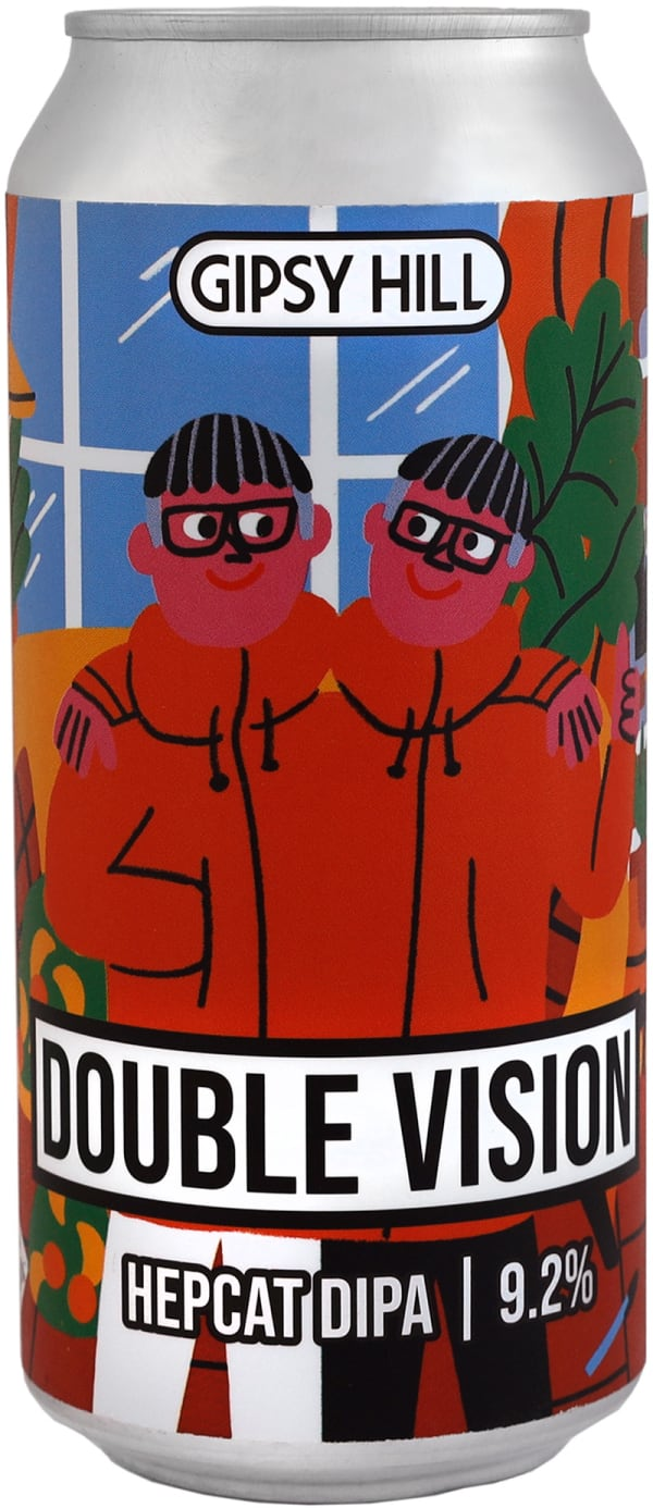 Gipsy Hill Double Vision Hepcat DIPA can