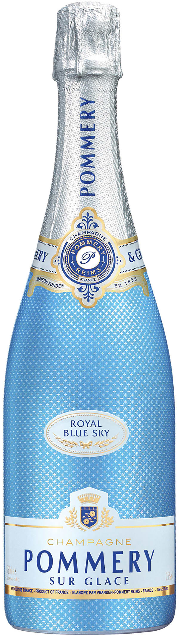 Pommery Royal Blue Sky Champagne Demi-Sec