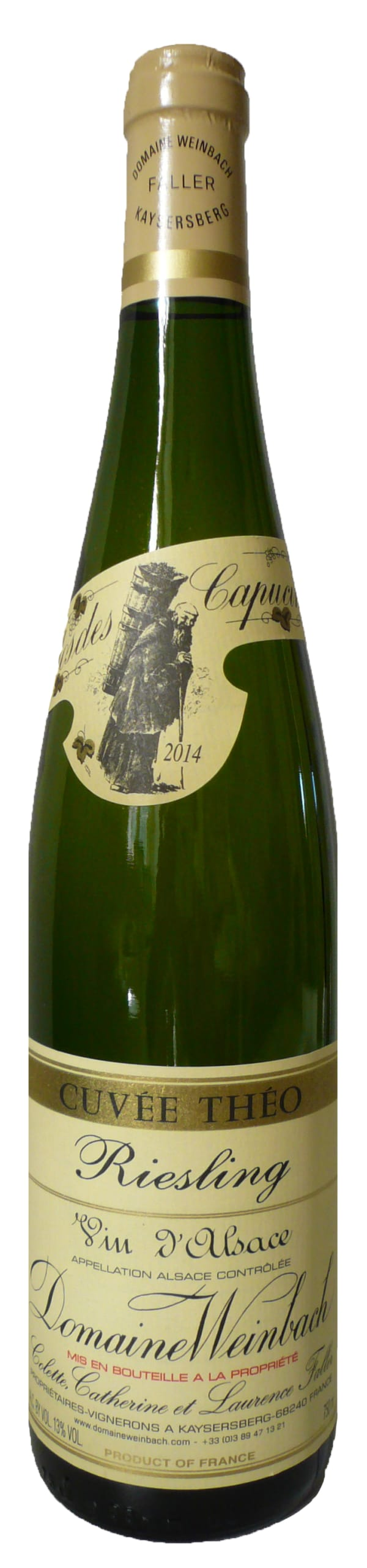 Domaine Weinbach Cuvée Théo Riesling 2015