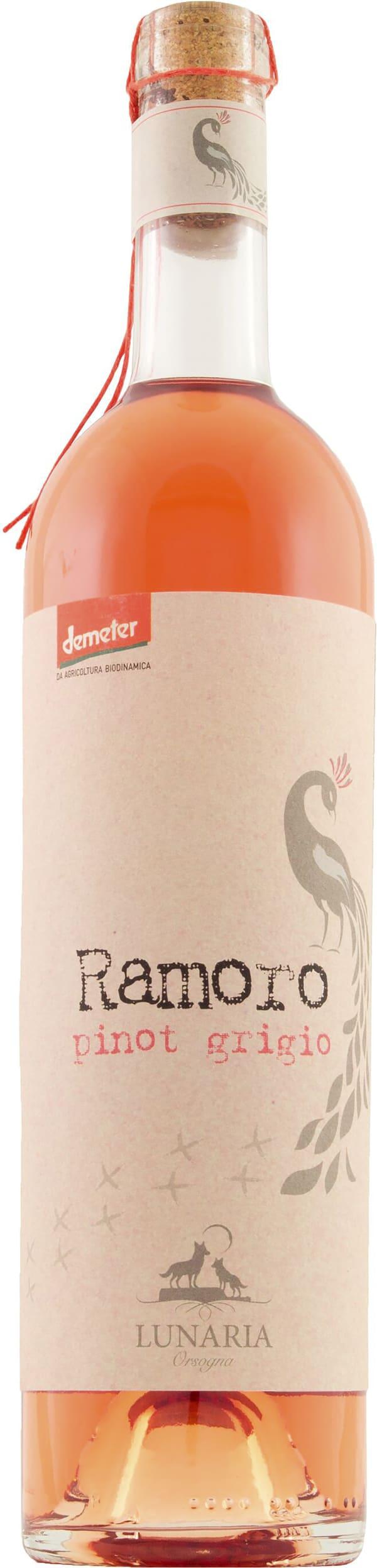 Orsogna Lunaria Ramoro Pinot Grigio Rosé 2017