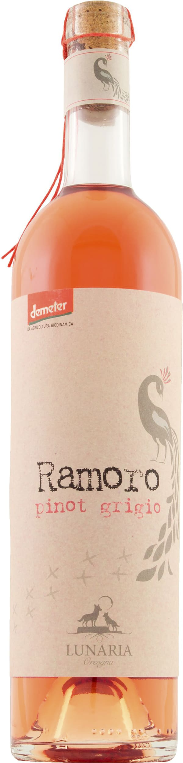 Orsogna Lunaria Ramoro Pinot Grigio Rosé 2018