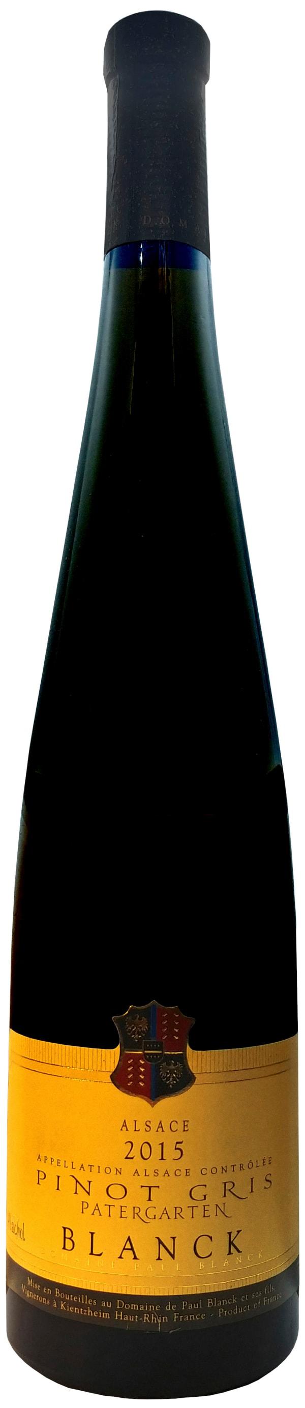 Paul Blanck Pinot Gris Patergarten 2015