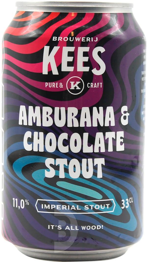 Kees Amburana & Chocolate Stout burk