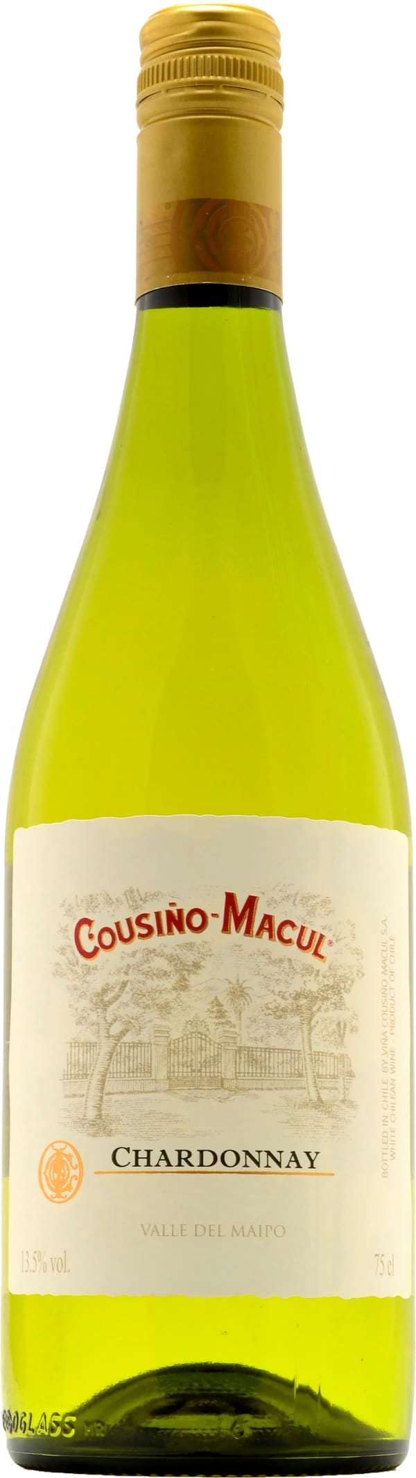 Cousiño-Macul Chardonnay 2017