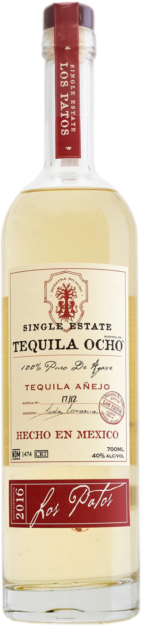 Ocho Añejo Los Patos Tequila 2016