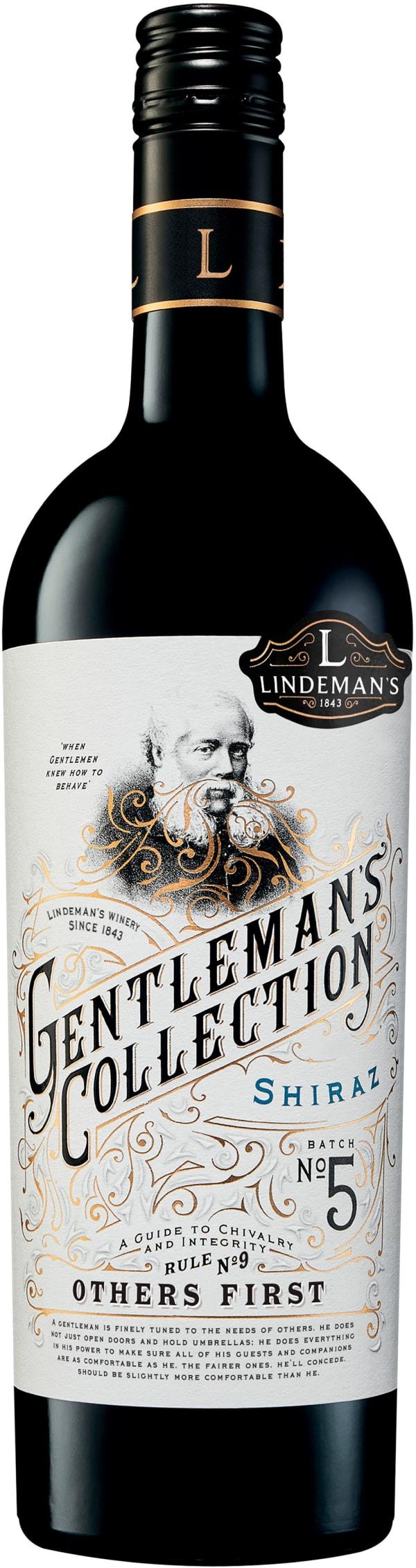 Lindeman's Gentlemans Collection Shiraz 2018