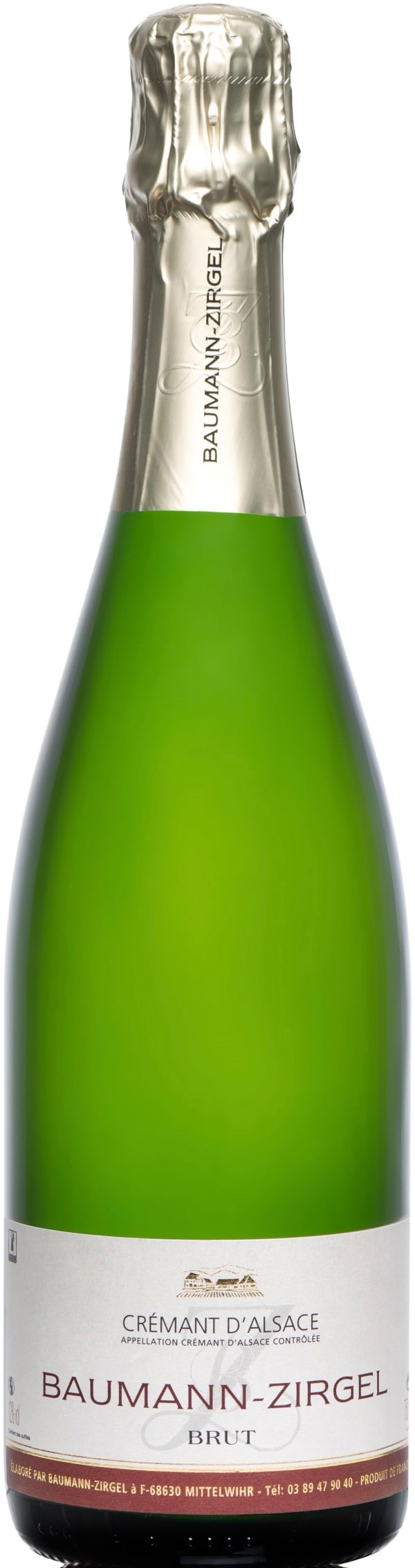 Baumann-Zirgel Crémant d´Alsace Brut
