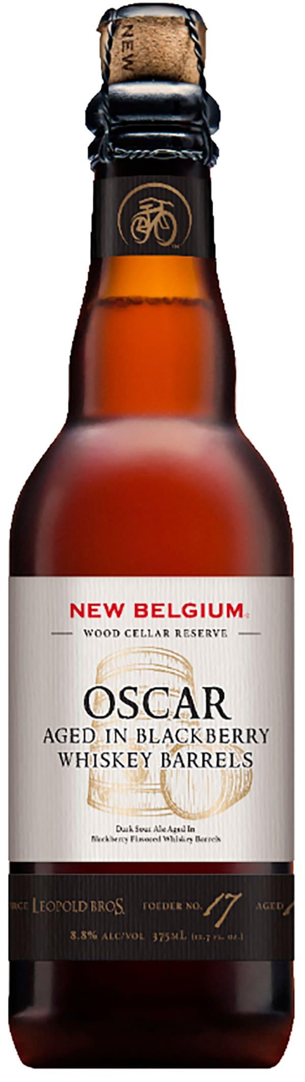 New Belgium Oscar Aged in Blackberry Whiskey Barrels