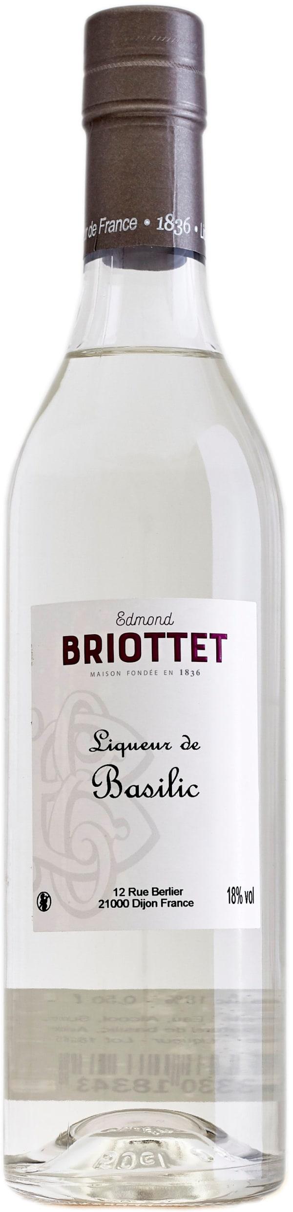 Edmond Briottet Liquer de Basilic