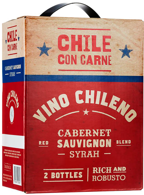 Chile con Carne 2018 lådvin