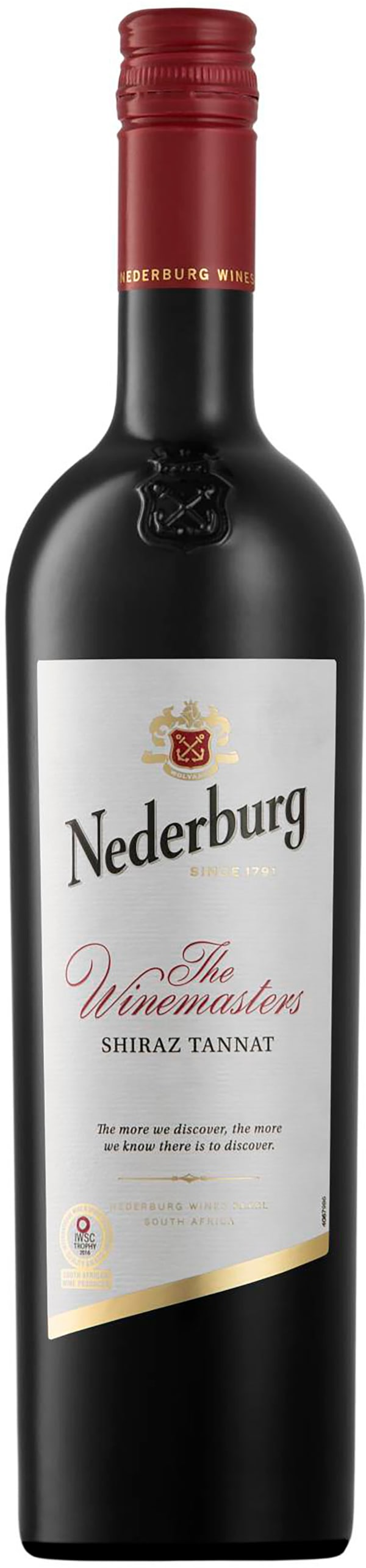 Nederburg The Winemasters Shiraz Tannat 2017