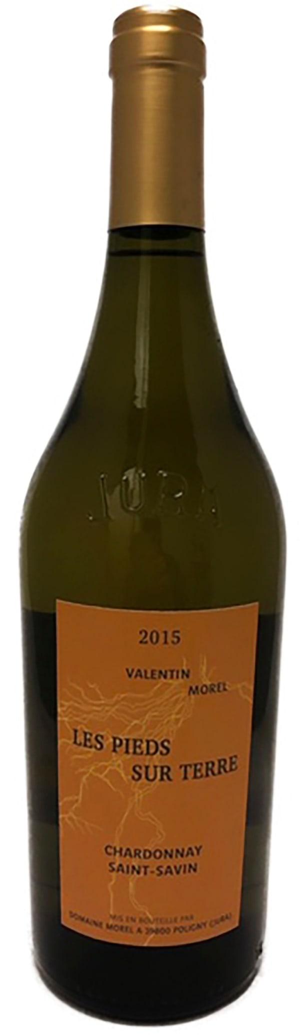 Valentin Morel Les Pieds sur Terre Chardonnay Saint Savin 2015