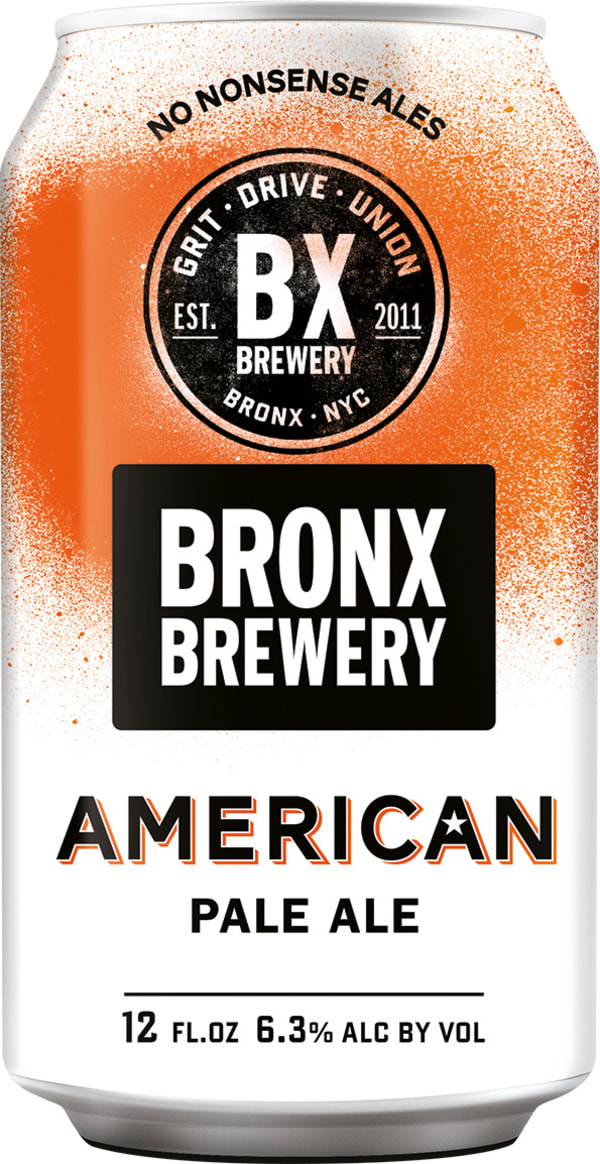 Bronx American Pale Ale can