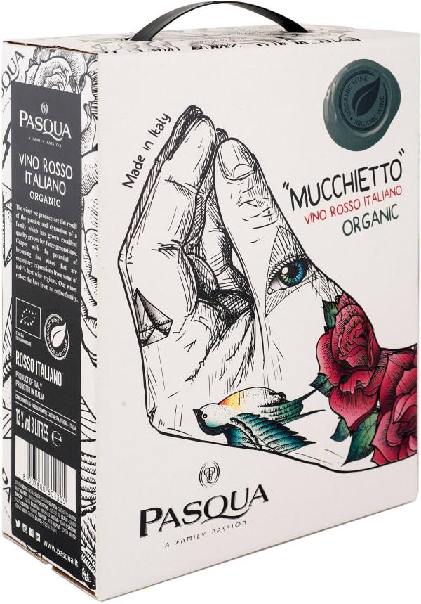 Pasqua Mucchietto Vino Rosso Italiano Organic lådvin