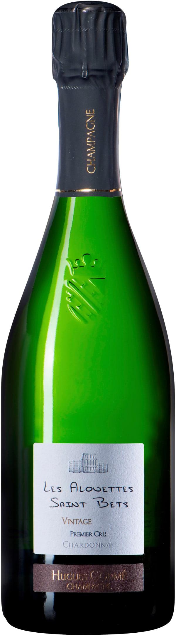 Hugues Godme Les Alouettes Saint Bets Premier Cru Champagne Extra Brut 2010