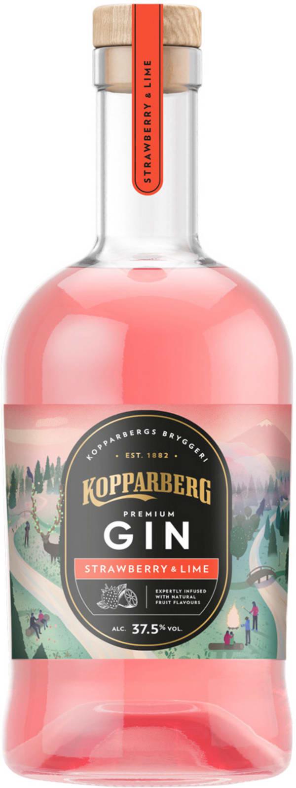 Kopparberg Premium Gin Strawberry & Lime