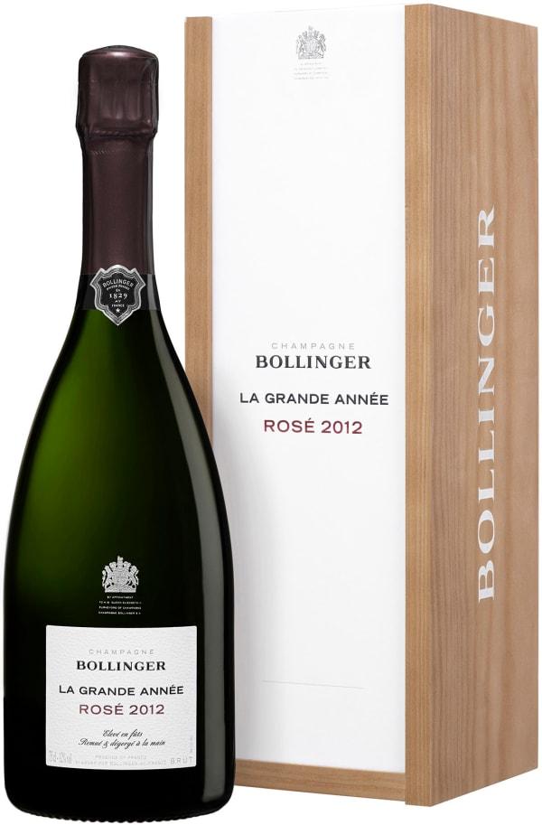 Bollinger La Grande Année Rosé Champagne Brut 2012