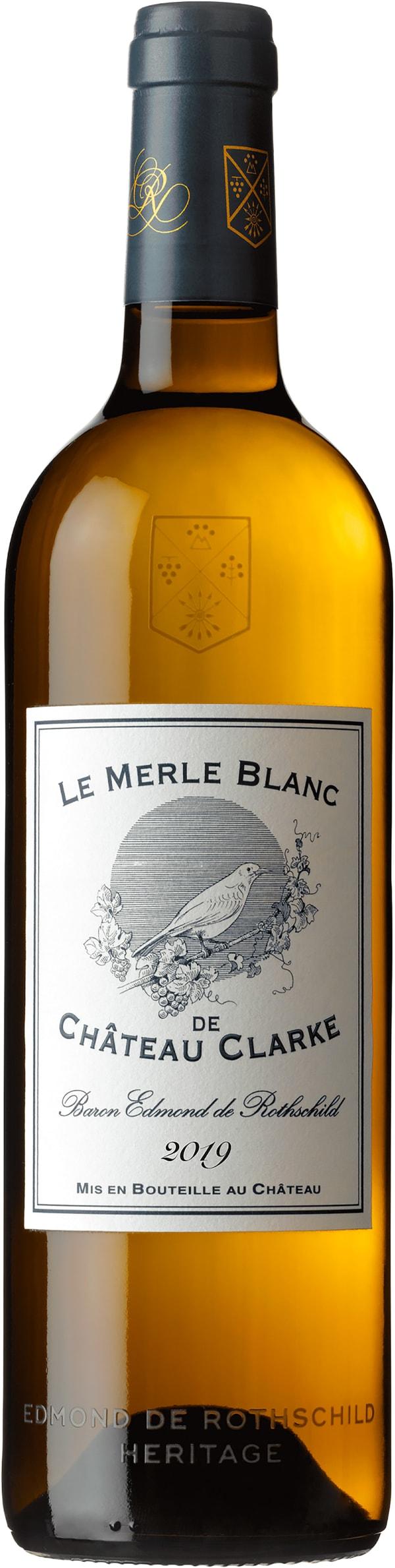 Chateau Clarke La Merle Blanc 2019
