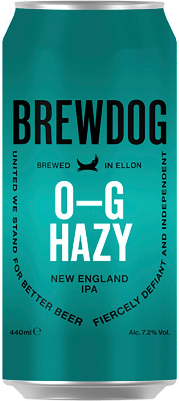 BrewDog O-G Hazy New England IPA burk