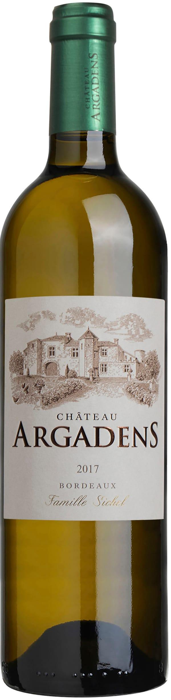 Château Argadens Sauvignon Sémillon 2017