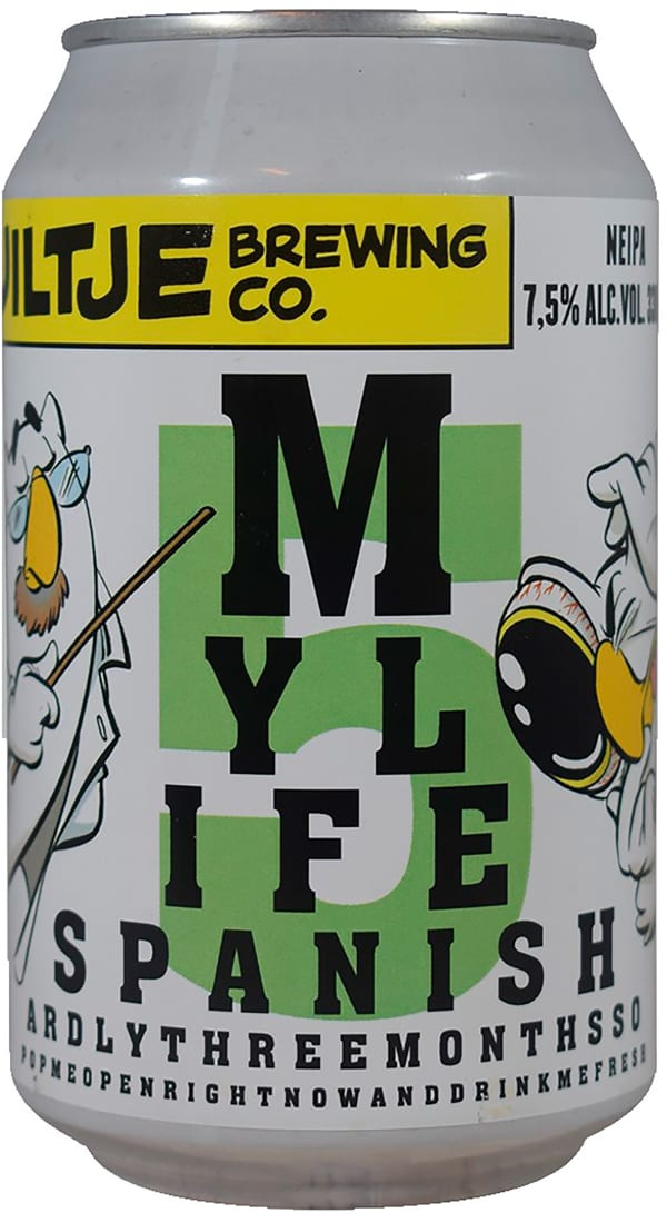 Uiltje My Life Span NEIPA 5 can