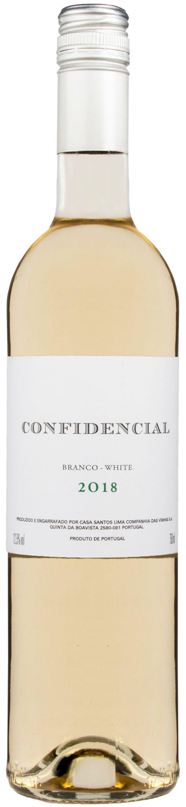 Confidencial Branco White 2018