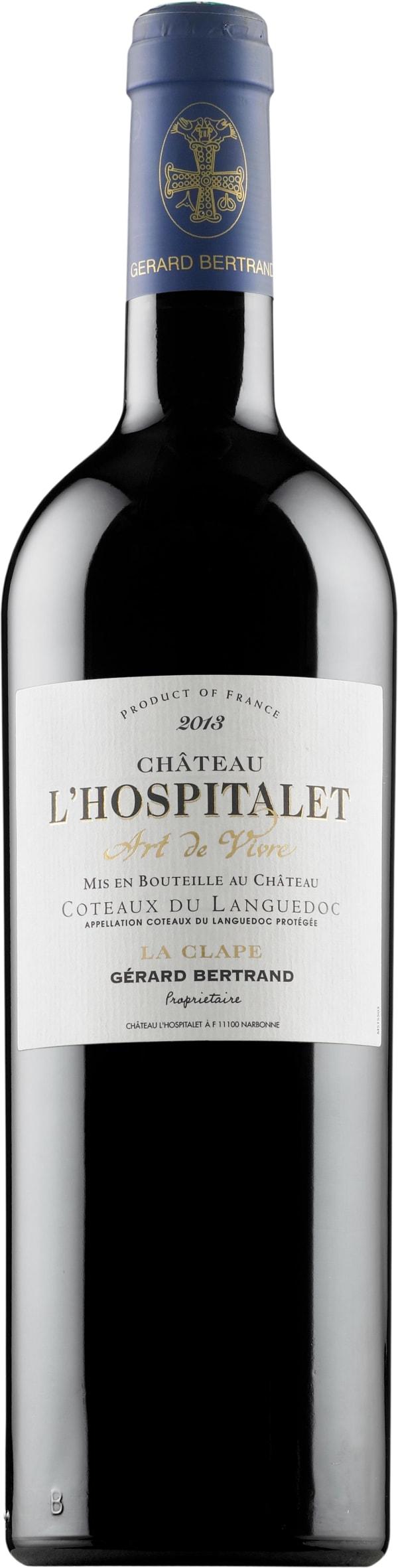 Gerard Bertrand Château l'Hospitalet Rouge 2017