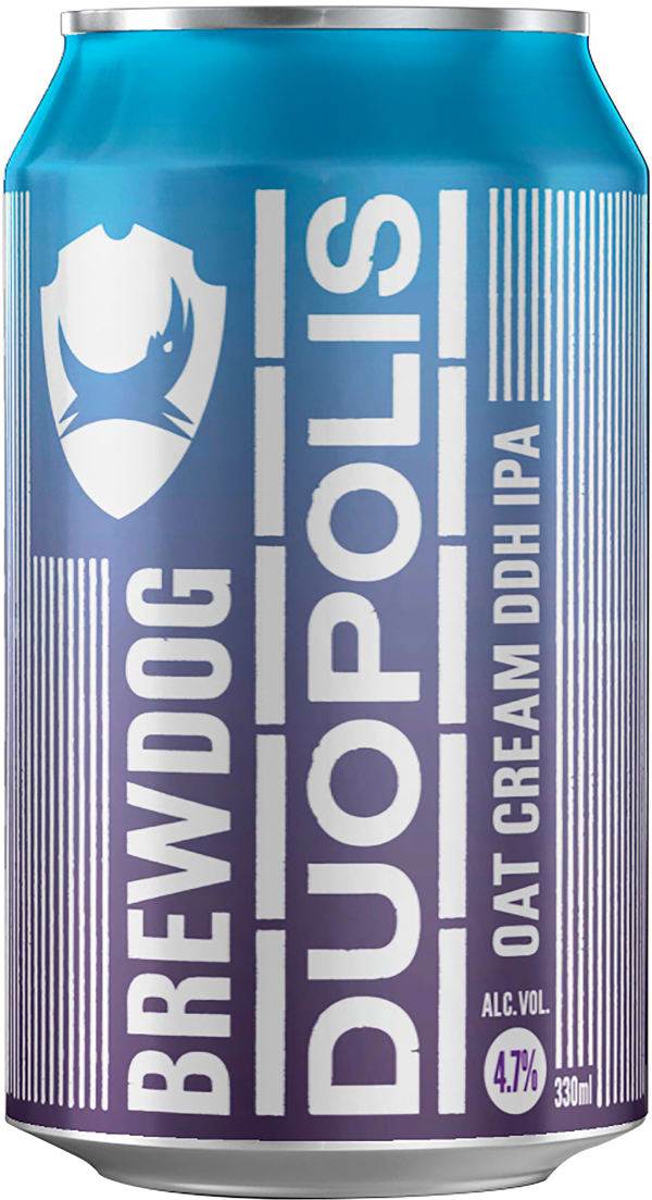 BrewDog Duopolis Oat Cream DDH IPA tölkki