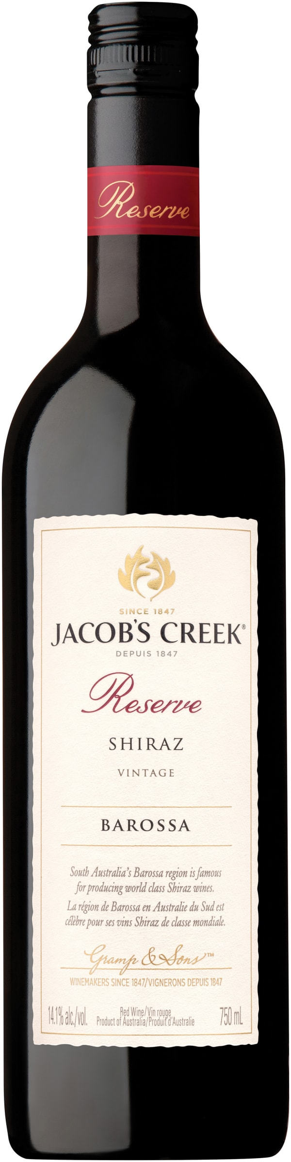 Jacob's Creek Reserve Shiraz 2014