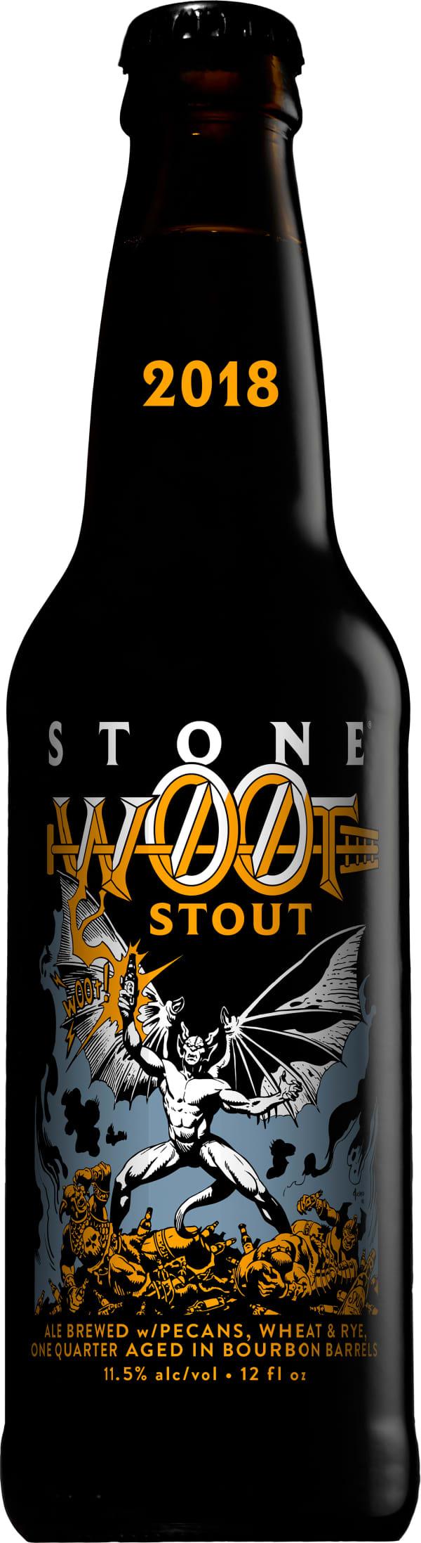 Stone W00t Stout 2018