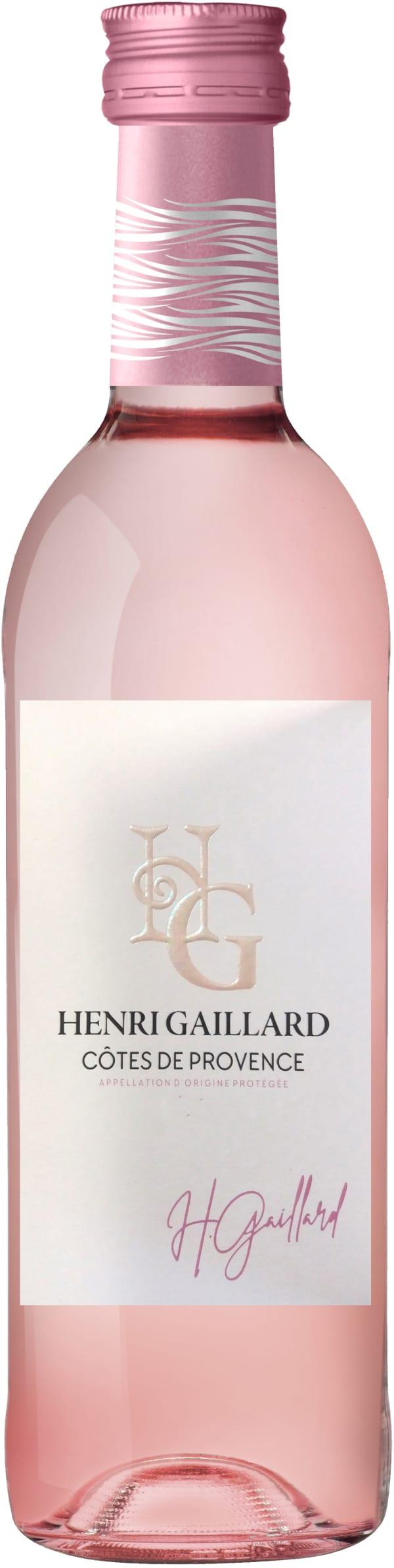 Henri Gaillard Côtes de Provence Rosé 2017