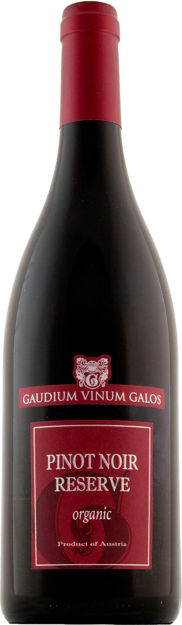 Gaudium Vinum Galos Pinot Noir Reserve Organic 2016