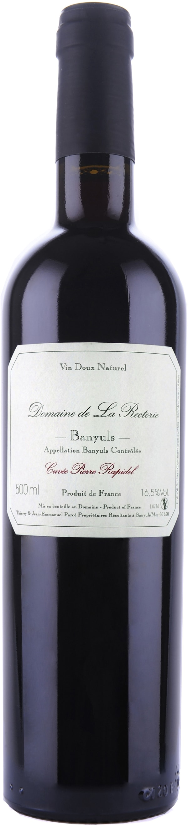 Domaine de la Rectorie Banyuls Traditionnel Pierre Rapidel 2009