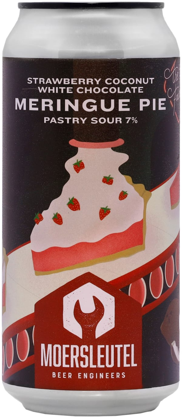 De Moersleutel Meringue Pie Pastry Sour can