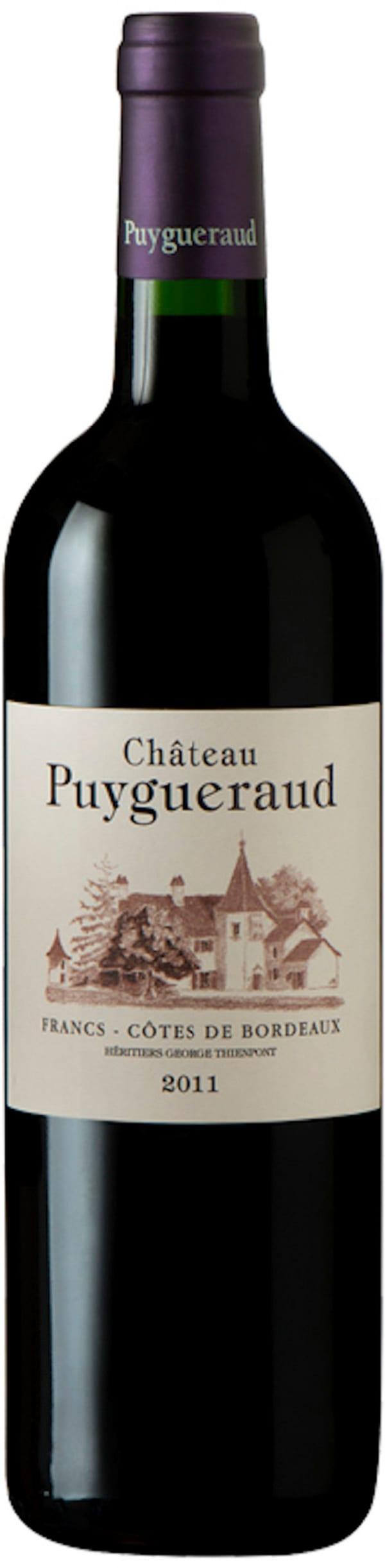 Château Puygueraud Rouge 2012