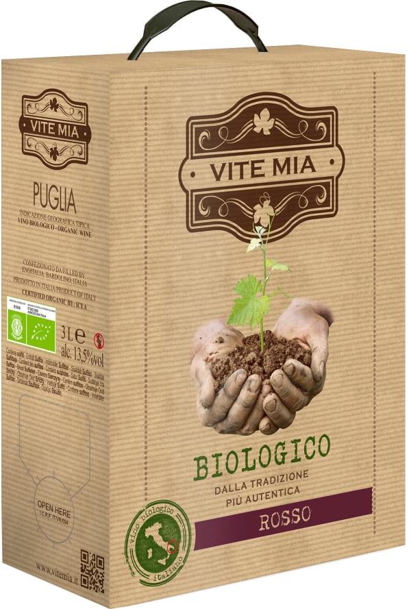 Vite Mia Vino Biologico Rosso 2016 bag-in-box